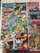 New Mutants #47 - 58 + ANNUAL 1987 Marvel Comic Book Run / Lot Of 13 VF/... - $25.19