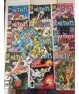 New Mutants #47 - 58 + ANNUAL 1987 Marvel Comic Book Run / Lot Of 13 VF/... - $25.19