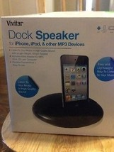 Iphone , Ipod  and Mp3 Dock Speaker - $14.99