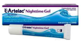 Artelac Nighttime Gel 10g Eye Lubricant for Lasting Hydration - $27.90