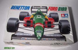 ~ Vintage Tamiya  Benetton B188  F1 Grand Prix Race Car - 1:20 model kit... - $23.95