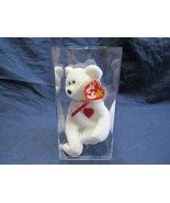 Very Rare Retired Ty Valentino Beanie Baby- with Swing Tag & Tush Tag Er... - $49.58