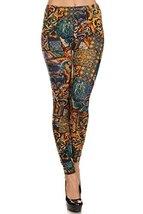 Women's Velour Full Length Cold Weather Legging, (Modern Renaissance, On... - $24.74