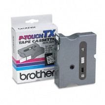 "Brother P-Touch TX Laminated Tape 0.75"""" W x 50 ft Length White - $40.95"