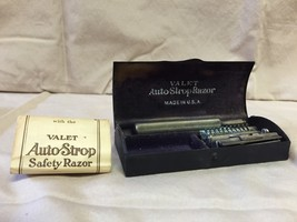 Antique Valet Auto Strop Safety Razor in Origin... - $25.00