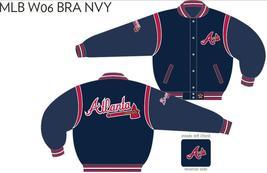 JH Design Atlanta Braves Wool Reversible Jacket - $109.95