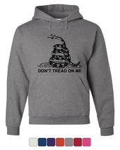 Don't Tread On Me Hoodie Gadsden Flag Political Patriot - $29.21+