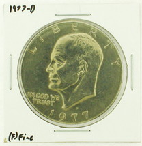 1977-D Eisenhower Dollar RATING: (F) Fine (N2-4209-21) - £2.40 GBP