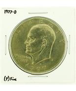 1977-D Eisenhower Dollar RATING: (F) Fine (N2-4209-22) - $3.00