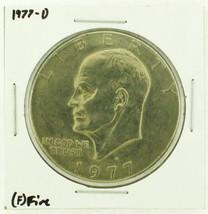 1977-D Eisenhower Dollar RATING: (F) Fine (N2-4209-23) - £2.40 GBP