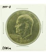 1977-D Eisenhower Dollar RATING: (F) Fine (N2-4209-23) - $4.01 CAD