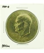 1977-D Eisenhower Dollar RATING: (F) Fine (N2-4209-26) - $3.00