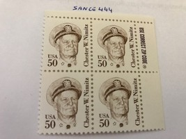 United States Chester Nimitz block mnh 1985 #4     stamps  - $5.00