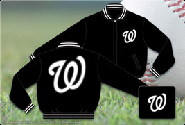 JH Design Washington Nationals Wool Jacket - $109.95
