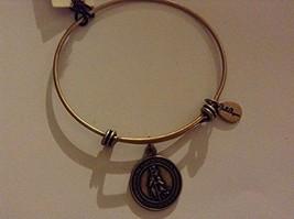 Bella Ryann St. Christopher Gold Charm Bangle Bracelet