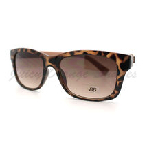 Fashion Sunglasses Womens Short Horn Rimmed Rectangular Shades - $7.15
