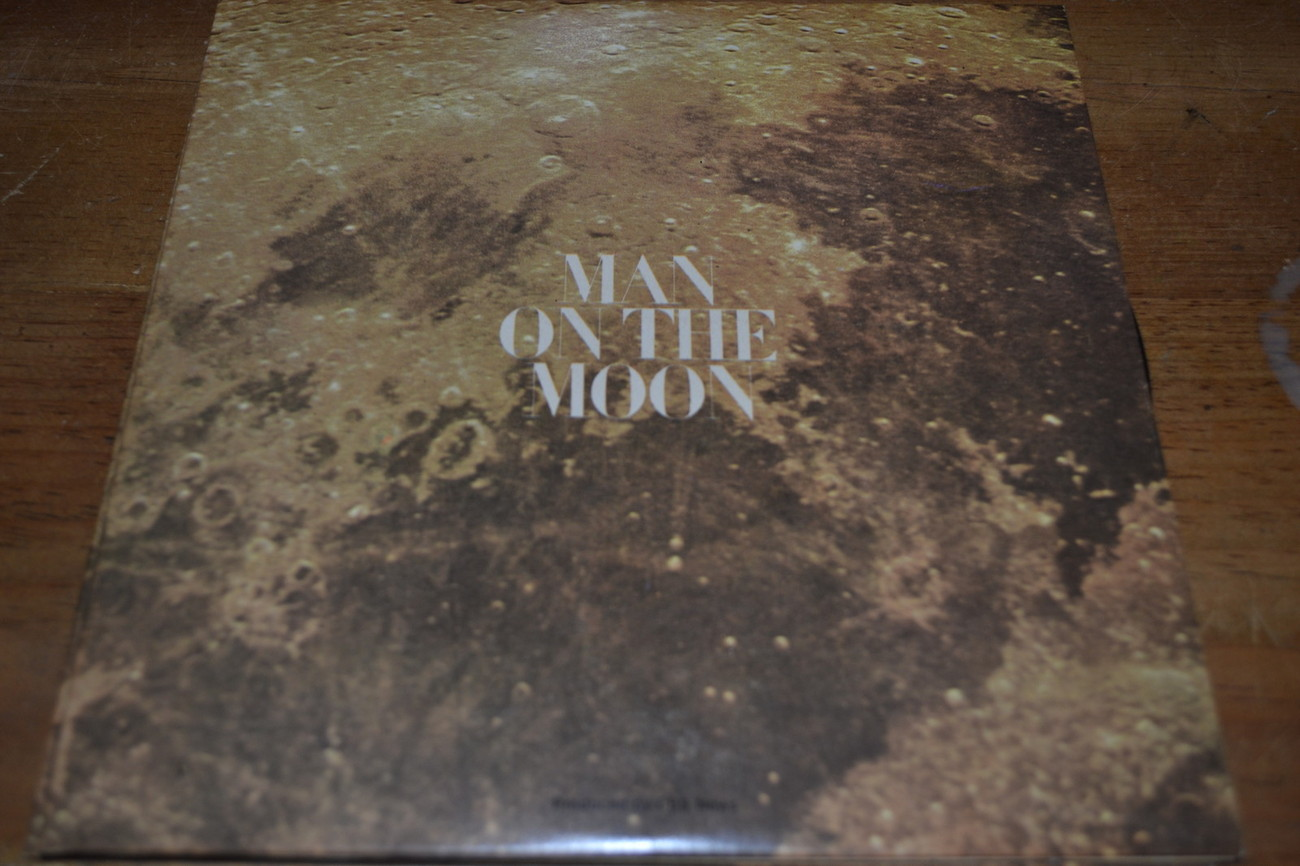 Primary image for Man On The Moon CBS News Walter Cronkite 45 RPM Very nice looking NM- (45-7630)
