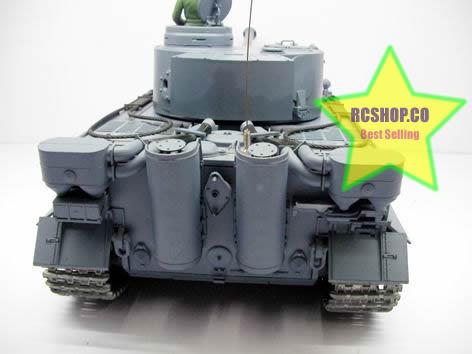 RC TANK METAL TRACK SMOKE & SOUND GERMAN TIGER TANK World War II Battle Airsoft