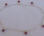 Red silver anklet thumb155 crop