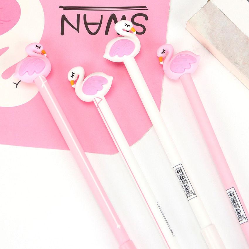 XUES® Creative Flamingo Swan Cute Gel Pen Signature Pen Escolar Papelaria School