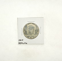 1981-D Kennedy Half Dollar (VF) Very Fine N2-3732-1 - $5.99