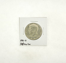 1981-D Kennedy Half Dollar (VF) Very Fine N2-3732-2 - $5.99