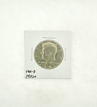 1981-D Kennedy Half Dollar (F) Fine N2-3737-5 image 1