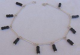 Black glass anklet 3 thumb200