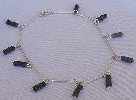 Black glass anklet 2 thumb200