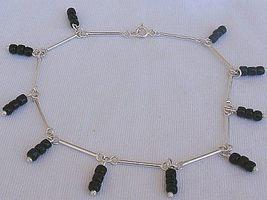 Black glass anklet thumb200