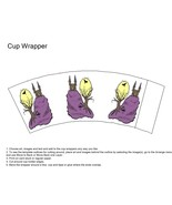 Haunted House Cup Wrapper-Digital clipart-Flowers  - $3.85