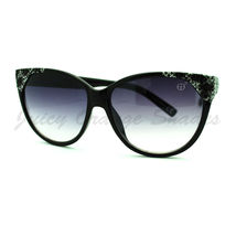 Womens Round Butterfly Frame Sunglasses High Fashion Designer Quality - $7.15