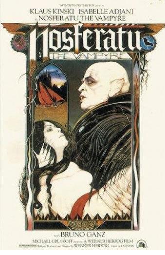 Nosferatu the vampyre movie poster 1979