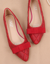 Red Women Shoes,Red Women Flats,Party Flats,Red Ballet Flats - £39.12 GBP