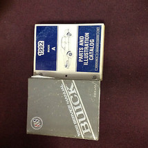 1992 GM Buick Regal Service Repair Shop Workshop Manual Set W Parts Book... - $49.45