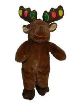 Build A Bear Hal The Moose Christmas Light Antlers Plush Stuffed Animal ... - $13.85