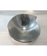 "Nambe Spiral Bowl 9"" diameter 633 Celentano Decorative Serving Bowl 1996 - $63.70"