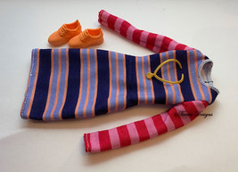 New Fashionistas 147 Barbie Doll Outfit for Gift Play or OOAK - $5.99