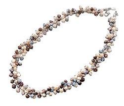 Jennifer Love Handmade White Rhodium Plated Amazing Necklace Freshwater ... - $123.62