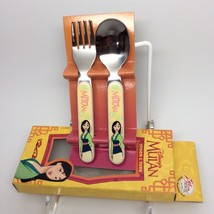 MULAN SPOON & FORK SET-BRAND NEW! - $10.00