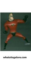 Walt Disney/Pixar THE INCREDIBLES plastic PVC figures Violet/Dash/Elasti... - $18.00