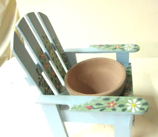 Candle Holder Wooden Chair