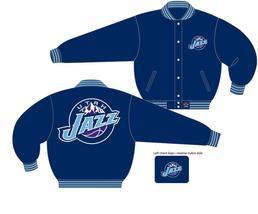 JH Design NBA Utah Jazz Wool Jacket  - $109.95