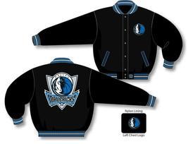 JH Design NBA Dallas Mavericks Wool Jacket  - $109.95