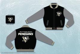 JH Design Pittsburgh Penguins NHL Wool Reversible Jacket - $109.95