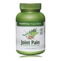 HealthViva Pure Herbs Joint Pain, 60 capsules - $39.95