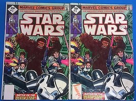 STAR WARS #3 (two copies) both are reprints (1977) Marvel Comics GOOD/VE... - $9.89