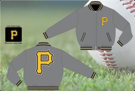 JH Design Pittsburgh Pirates Wool Reversible Jacket  - $109.95