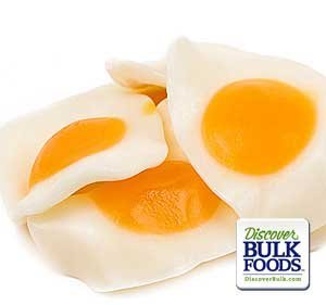 Vidal Large Gummi Fried Eggs, 2.2 LB