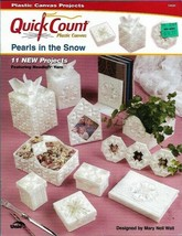 Pearls in the Snow in Plastic Canvas Quick Count 53020 11 Projects Uniek - $4.99